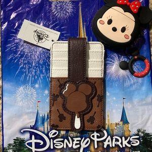 Mickey Ice Cream Loungefly Credit card hol…
